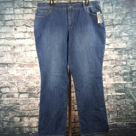 Christopher & Banks Denim - Christopher & Banks Barely Boot Jeans 16W